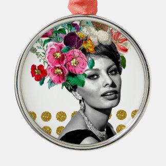 Beautiful Sophia Metal Ornament