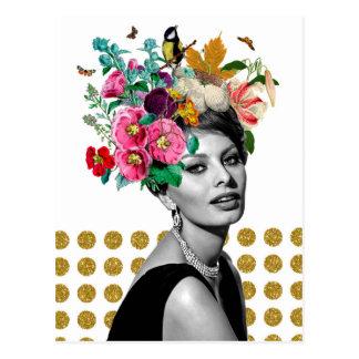 Beautiful Sophia Postcard