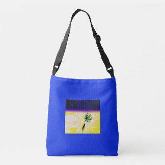 BEAUTIFUL SPACE FLOWER TOTE