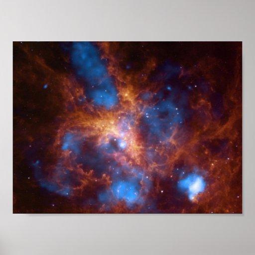 Beautiful space image print