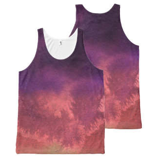 Beautiful Spring Abstract Watercolors All-Over-Print Tank Top