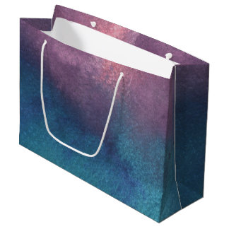 Beautiful Spring Abstract Watercolors Large Gift Bag