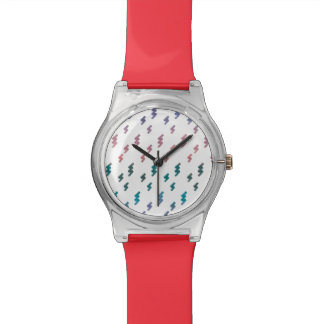 Beautiful Spring Abstract Watercolors Watch