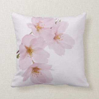 Beautiful spring cherry blossoms in Tokyo Throw Pillow
