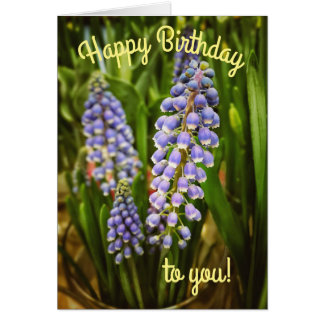 Beautiful Spring Floral Birthday Card