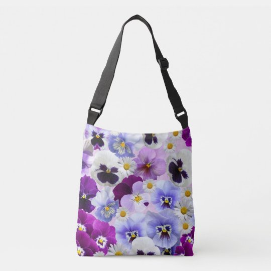 Beautiful Spring Flowers All-Over-Print Tote Bag