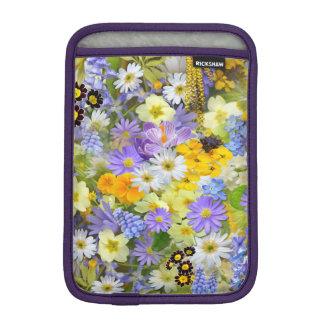 Beautiful Spring Meadow Flowers iPad Sleeve