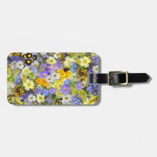 Beautiful Spring Meadow Flowers Luggage Tag