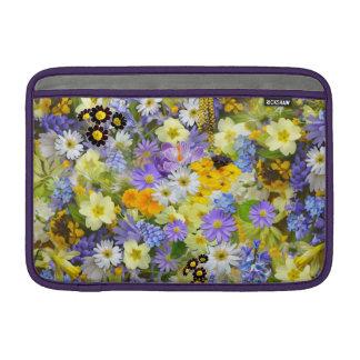 Beautiful Spring Meadow Flowers MacBook Air Sleeve