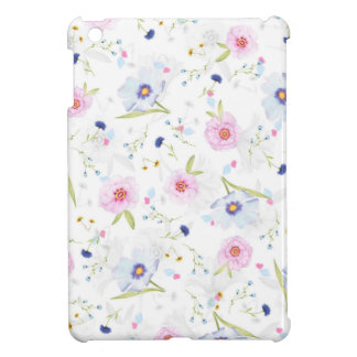 Beautiful Spring watercolor flowers by storeman. iPad Mini Cases