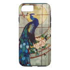 Beautiful Stained Glass Peacock iPhone 8/7 Case