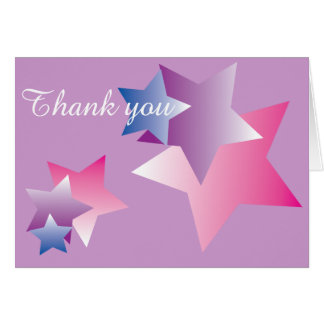Beautiful Stars Simple Expressions Card
