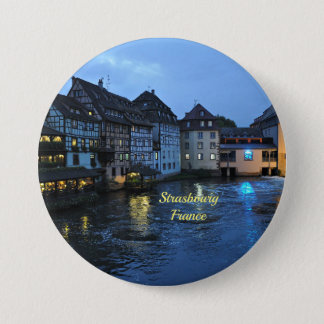 Beautiful Strasbourg, France 3 Inch Round Button