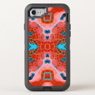 Beautiful Strawberry Abstract OtterBox Defender iPhone 8/7 Case