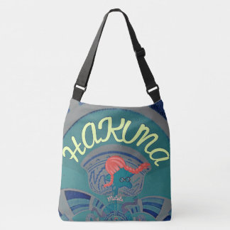 Beautiful stylish Hakuna Matata Body blue design Crossbody Bag