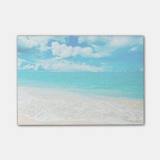 Beautiful Summer Beach Post-it Notes