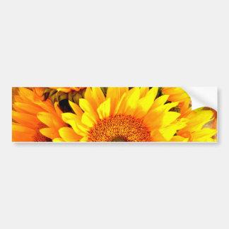 Beautiful Sunflower Bouquet Gifts Bumper Sticker