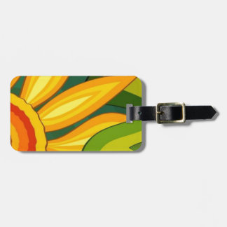 Beautiful Sunflower Luggage Tag