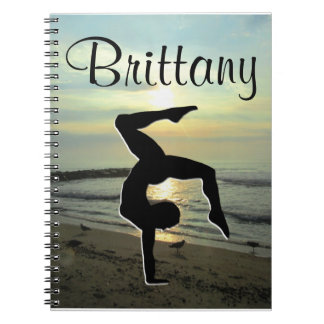 BEAUTIFUL SUNRISE CUSTOM GYMNASTICS JOURNAL