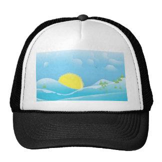 Beautiful sunrise hats