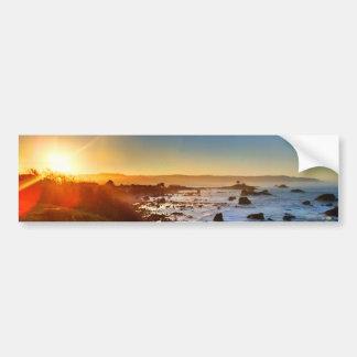 Beautiful Sunrise Over the Cliffs of Crescent City Bumper Sticker