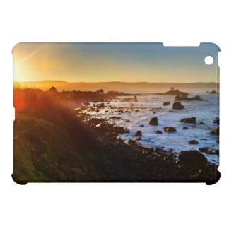 Beautiful Sunrise Over the Cliffs of Crescent City iPad Mini Covers