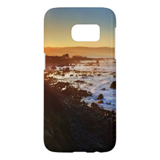 Beautiful Sunrise Over the Cliffs of Crescent City Samsung Galaxy S7 Case