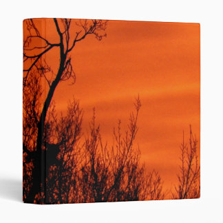 Beautiful Sunrise Picture Photography 3 Ring Binders