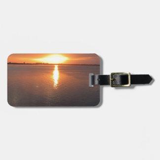 Beautiful Sunset Bag Tag