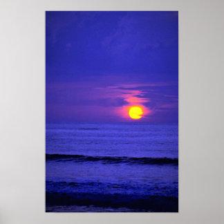 Beautiful Sunset: Bali, Indonesia Poster