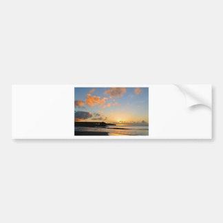 Beautiful sunset bumper sticker