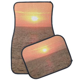 Beautiful Sunset Car Floor Mats (Full Set)