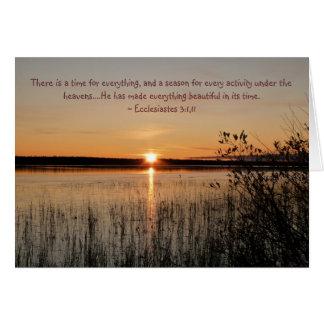 Beautiful Sunset Card - Fully Customizable