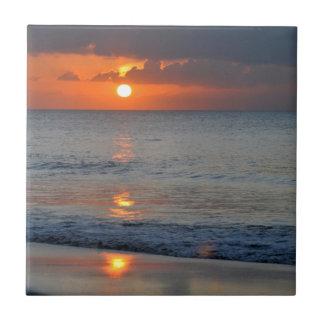Beautiful sunset ceramic tiles