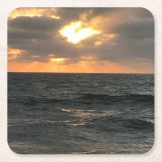 Beautiful sunset coaster
