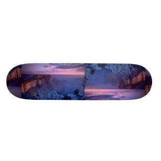 Beautiful Sunset: Grand Canyon, Arizona Skateboard