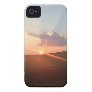 Beautiful Sunset Hill Case-Mate iPhone 4 Case