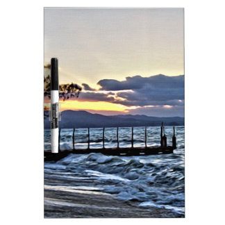 Beautiful Sunset in Montego Bay, Jamaica Dry-Erase Board
