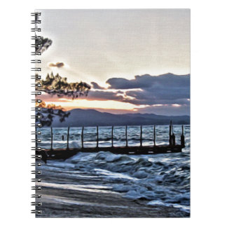 Beautiful Sunset in Montego Bay, Jamaica Notebook