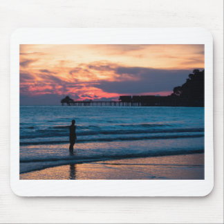 Beautiful Sunset in the Tropics Mouse Pad
