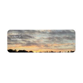 Beautiful Sunset Labels