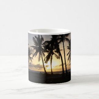 beautiful sunset magic mug