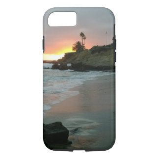 Beautiful Sunset on the Shore Cliffs iPhone 7 Case