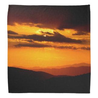 Beautiful sunset photo bandana