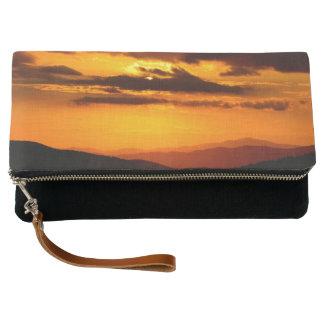 Beautiful sunset photo clutch
