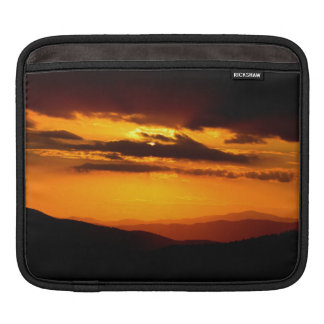 Beautiful sunset photo iPad sleeve