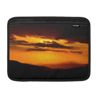 Beautiful sunset photo MacBook sleeve