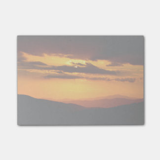 Beautiful sunset photo post-it® notes