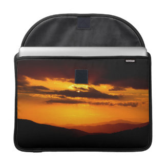Beautiful sunset photo sleeve for MacBooks