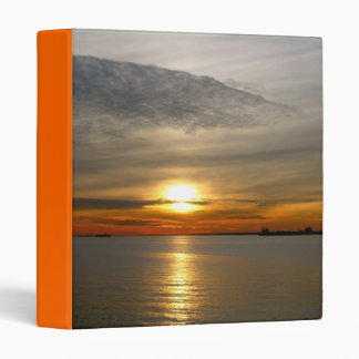 Beautiful sunset photography binder design